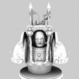 邪恶魔头,怪物maya模型
