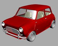甲壳虫小汽车3d模型