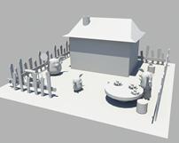三只小猪3D模型