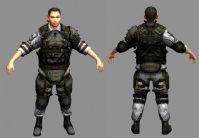 crysis 孤岛危机中的韩国男性角色,3d次时代游戏角色模型