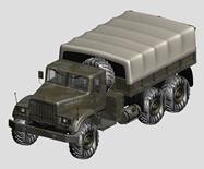 军用卡车.货车3d模型