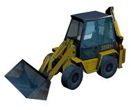 挖掘机,铲车3d模型