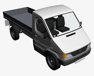 货车,卡车,皮卡3d模型