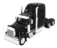 车头,拖车,货车3d模型