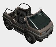 部队军用敞篷汽车3d模型