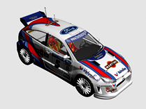 Ford福特赛车,拉力车,汽车3d模型