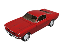 Ford福特老款汽车3d模型