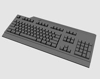 thinkstation键盘,maya模型