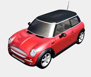 宝马MINI汽车3d模型
