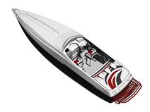 游艇,快艇3d模型
