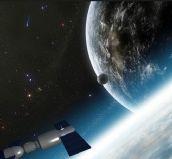 卫星,天宫1号3d模型