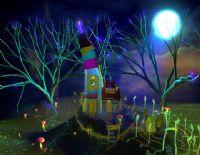 一个唯美的童话场景,maya模型(带灯光)