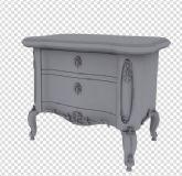 欧式桌子3D模型