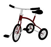 儿童自行车,三轮车3d模型