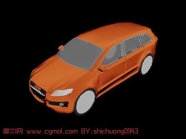 奥迪A3汽车3D模型