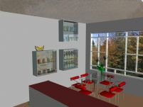 室内家具-餐厅3D模型