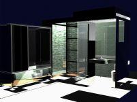 室内家具-浴室3D模型