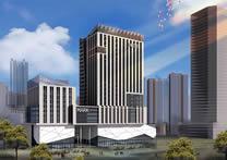 现代商业中心建筑3D模型