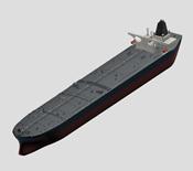 大型货轮,潜艇3d模型