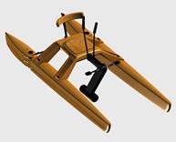 游艇,水上娱乐设施3d模型