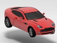 阿斯顿・马丁V12,3d汽车模型