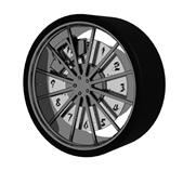 轮胎,车轱辘3d模型