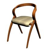 简单椅子3d模型