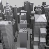 NewYork纽约商业?#34892;?#24314;筑场景3D模型