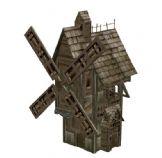 魔兽世界里的大风车建筑3D模型