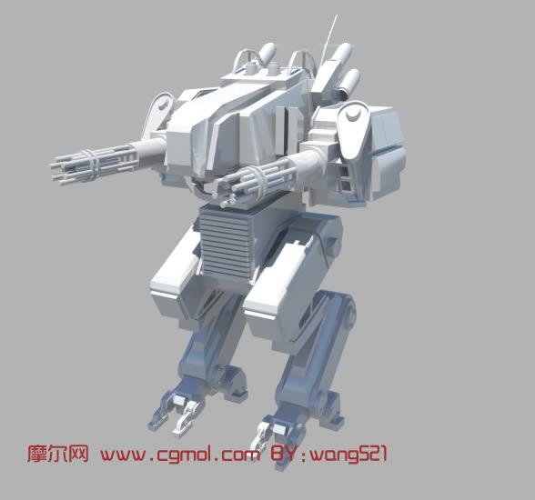 机器人maya模型,机械角色,机械模型,3d模型免 高清图片