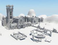 大型教堂场景maya模.图片