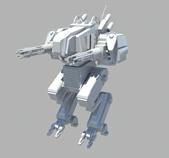 机器人maya模型