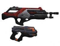 次世代游戏《质量效应2》中的手枪,步枪3D模型
