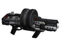 次世代游戏《质量效应2》中的散弹枪3D模型