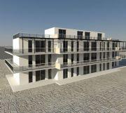 maya现代大楼,现代建筑3D模型
