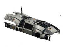 次世代游戏《质量效应2》中的小型运兵飞船3D模型
