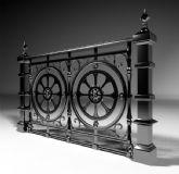 铁门装饰,栅栏maya模型