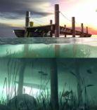 船舶港,港口,口岸,水底世界,maya自然场景模型