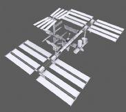 国际空间站3D模型