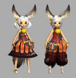 游戏《剑灵》中的Lyn族角色三,max游戏角色模型