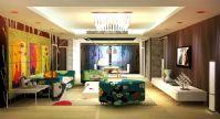 客厅,室内设计3D模型