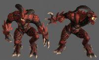 游戏怪兽,怪物3D模型