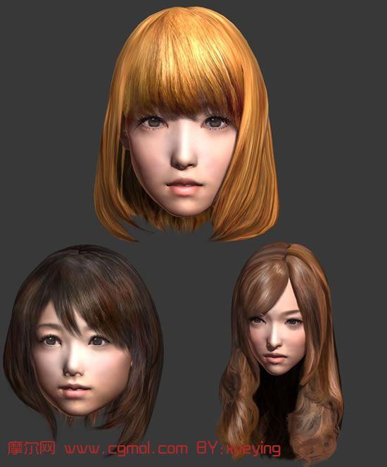 3d现实角色模型