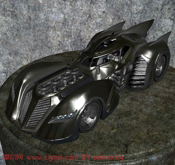 蝙蝠战车,蝙蝠侠战车3d模型