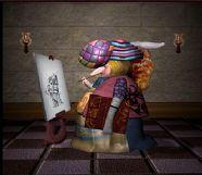 卡通长鼻子画家maya模型