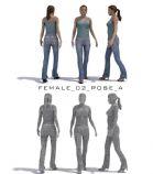 建筑动画用高精度3D人物,一张DVD的,带有vary跟mr的两种材质