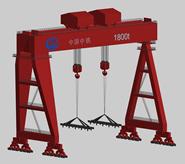 龙门吊3d模型
