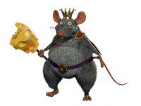 老鼠王3D模型(毛发材质齐全)
