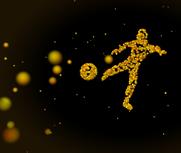 粒子踢球max模型