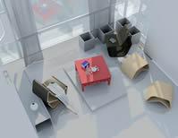 多功能椅子设计3D模型